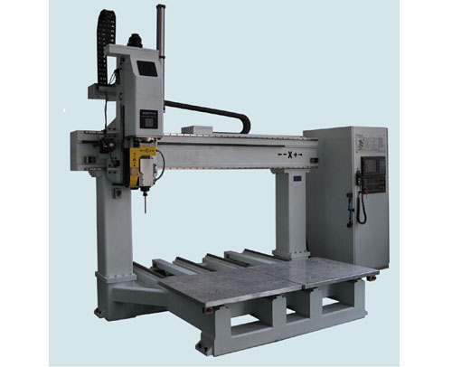 Twin table five axis working center